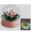 Rose Snow Globe