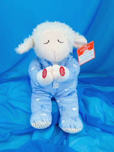 Good Night Lamb Blue