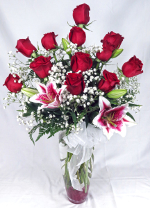 summer Rose Special with Stargazers
