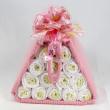 Diaper Pyramid - pink