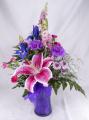 Vibrant in Violets