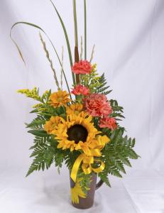 Sunflower Mug Bouquet