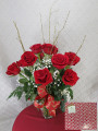 Valentines Day Deluxe Roses