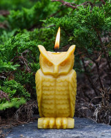 Beeswax Wise Owl