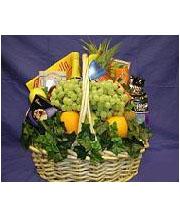 Delectable Fruit & Gourmet Basket