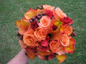 Autumn Tones Bouquet