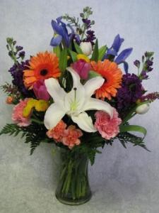 Spring Vased Arrangement