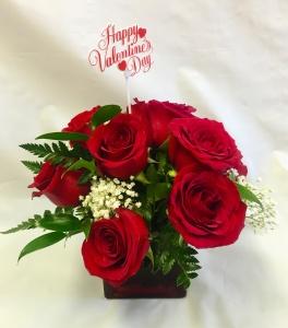 Pequa Valentine\'s Day Red Cube 1