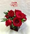 Pequa Valentine's Day Red Cube 2