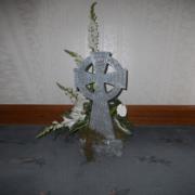 Celtic Garden Cross