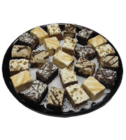Dessert Cake Variety Tray - Large (24 Cakes)