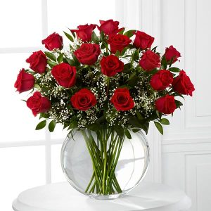Smitten Luxury Rose Bouquet - 18 stems of 24-inch