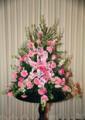 A-Line Traditional Funeral Arangement