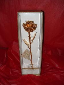 Preserved Gold Rose