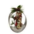 Ornament - 2 Santa