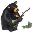 Figurine - Bears fishing
