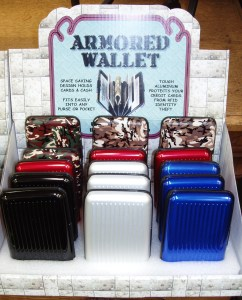 Purses - 3 Armour Wallets