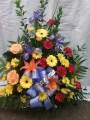 Sympathy Funeral Basket - 12