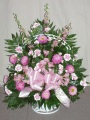 Sympathy Funeral Basket - 5