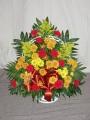 Sympathy Funeral Basket -8
