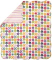 Throw - Flower Pattern Quilt