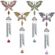 Wind Chime - Pewter Works Butterfly