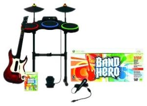 Band Hero Band Kit feat Taylor Swift for X-Box 360