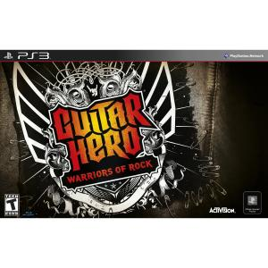 Guitar Hero: Warriors of Rock Super Band Bundle for Playstation 3
