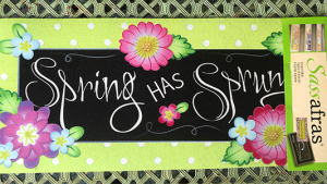 Spring has Sprung Door Mat Insert