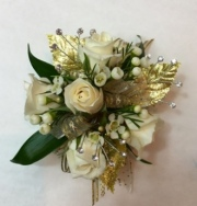 Gold Intentions Corsage