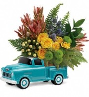 Timeless Chevy Pickup Bouquet