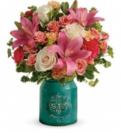 T18M305A Teleflora's Country Skies Bouquet