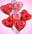 Love & Romance Balloon Bouquet