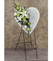 Keepsake Heart Easel Spray