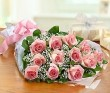 Pink Rose Presentation Bouquet