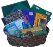 School Supply Basket