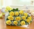 Yellow Rose Presentation Bouquet