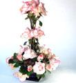 Lexis Florist Signature, Pink Accent Topiary