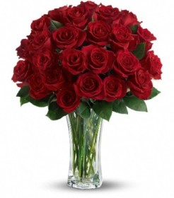 Love and Devotion - 2 Dozen Red Roses