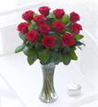 Elegant Red Rose Hand tied