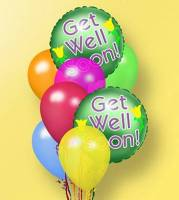 Get Well Latex Mylar Combo