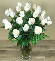 Graceful White Rose Bouquet