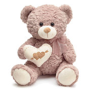 2 Hearts Valentine Bear