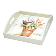 Herb Garden Serving Tray