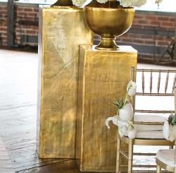 Fab Metal Gold Columns