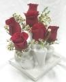 Six LIttle Vases