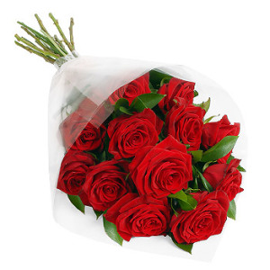 Red Roses Gift Wrap