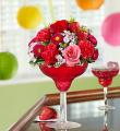 Floral Strawberry Margarita by CCF