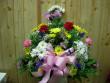 CCF Daisy & Carnation Sympathy Basket