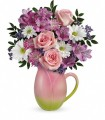 Teleflora's Spring Tulip Pitcher by CCF
